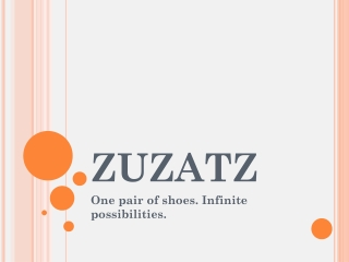 Zuzatz Sandal Shoes with Interchangeable Straps
