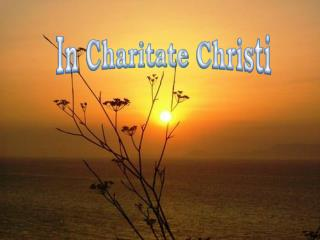 In Charitate Christi