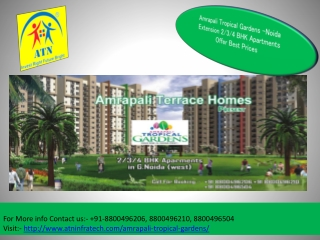 Best Price And Location Map- Amrapali Tropical Gardens