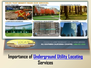 Underground Utility Locating