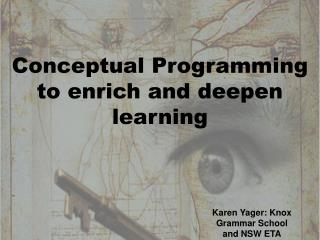 Conceptual Programming to enrich and deepen learning