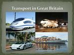 Transport in Great Britain