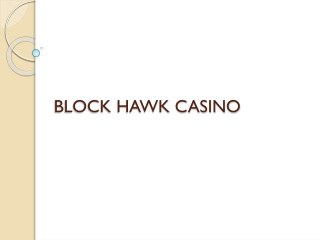 blackhawk casino