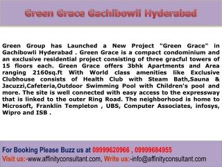 Hyderabad New Property Green Grace