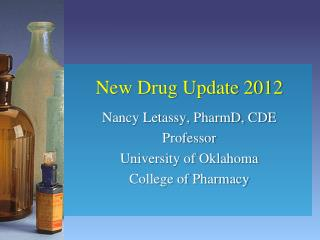 New Drug Update 2012