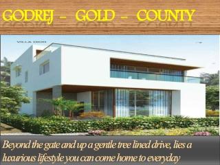 Godrej Gold County09999620966 Bangalore Villa