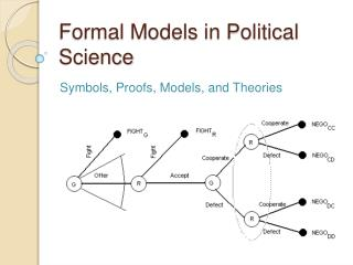 Formal Models in Political Science