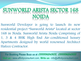 Sunworld Projects Noida