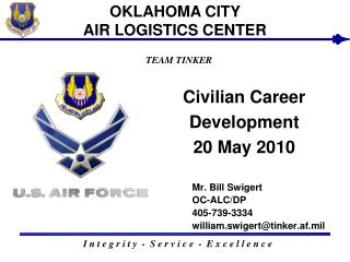 Civilian Career Development  20 May 2010