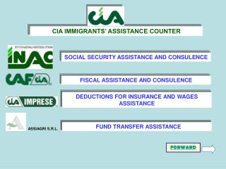 SOCIAL SECURITY ASSISTANCE AND CONSULENCE