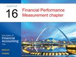 Financial Performance Measurement chapter
