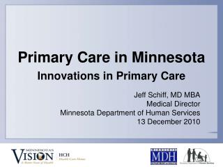 Primary Care in Minnesota