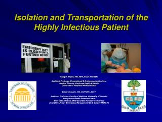 Isolation and Transportation of the Highly Infectious Patient