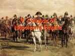 V. Collapse of Napoleon s Empire