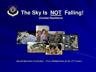 The Sky Is   NOT   Falling! Combat Resilience