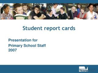 Student report cards