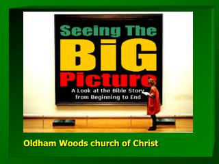 Oldham Woods church of Christ