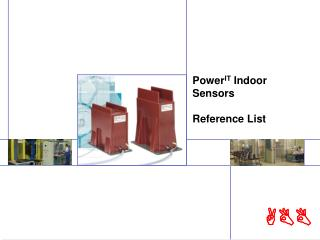 Power IT  Indoor Sensors Reference List