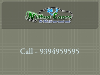 Nithyacaars - Chennai to Tirupati Car Rentals, Tirupati Taxi