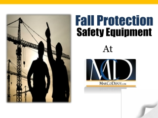 Fall Protection Safety Equipment at Marcodepot