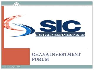 GHANA INVESTMENT FORUM