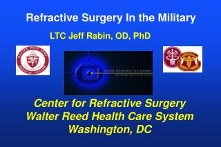 Refractive Surgery In the Military