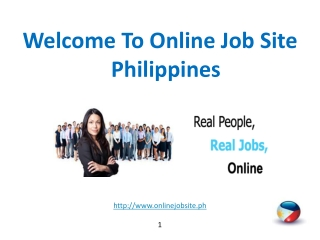 Two Great Reasons Why Many Filipinos Are Into Online Jobs