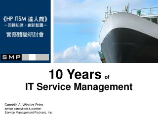 10 Years of IT Service Management