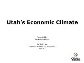 Utah's Economic Climate