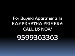 Ramprastha New Project Call 9599363363