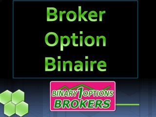 Broker Option Binaire
