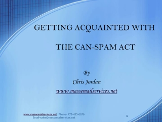 GETTING ACQUAINTED WITH