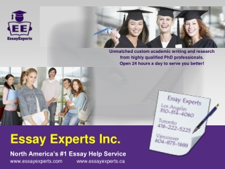 Essay Experts - Essay Help Service
