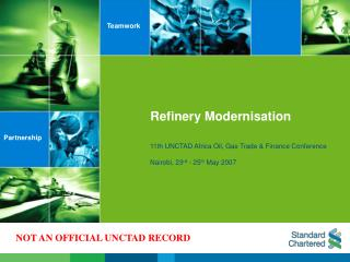 Refinery Modernisation