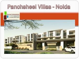 Panchsheel Villas - Upcoming Project in Noida Extension