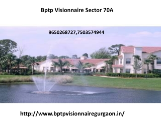 Bptp Visionnaire Homes
