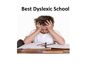 Best Dyslexic School