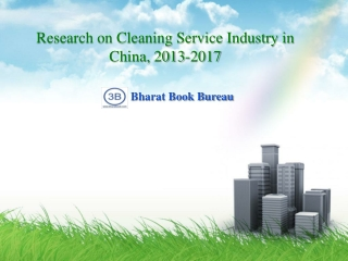Research on Cleaning Service Industry in China, 2013-2017