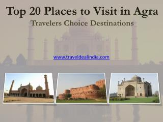Agra Tourist Places: 20 Most Visited Destinations in Agra