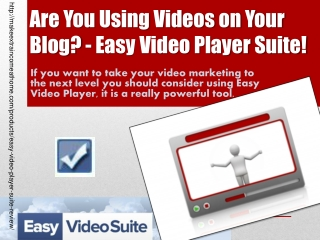 Easy Video Player Suite