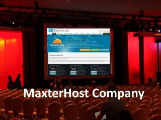 MaxterHost Company