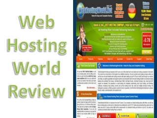Web HostingWorld Review