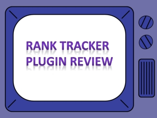 Rank Tracker Plugin Review