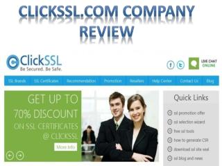 ClickSSL.com Company Review