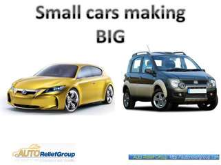 Small cars make it Big