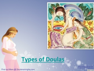 Types of Doulas
