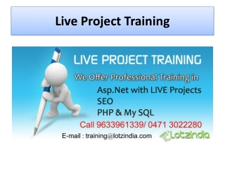 Professional PHP Training in Trivandrum