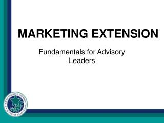 MARKETING EXTENSION