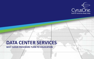 Data Center Services: Why Cloud Providers Turn to Colocation