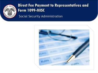 Direct Fee Payment to Representatives and Form 1099-MISC
